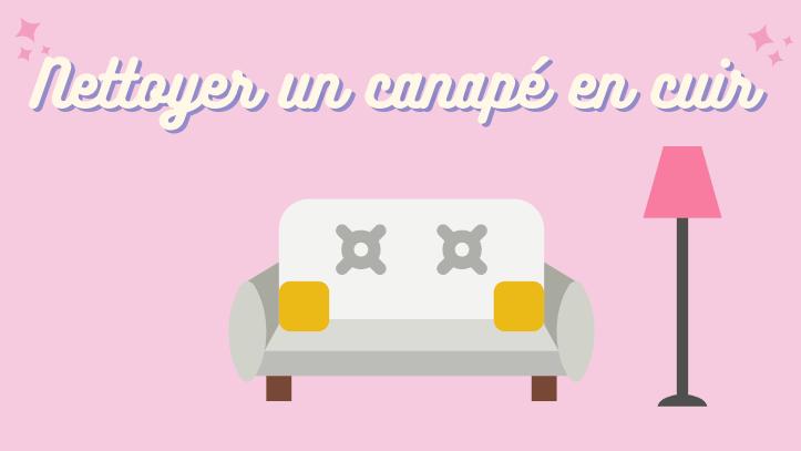 Comment nettoyer un canapé en cuir blanc