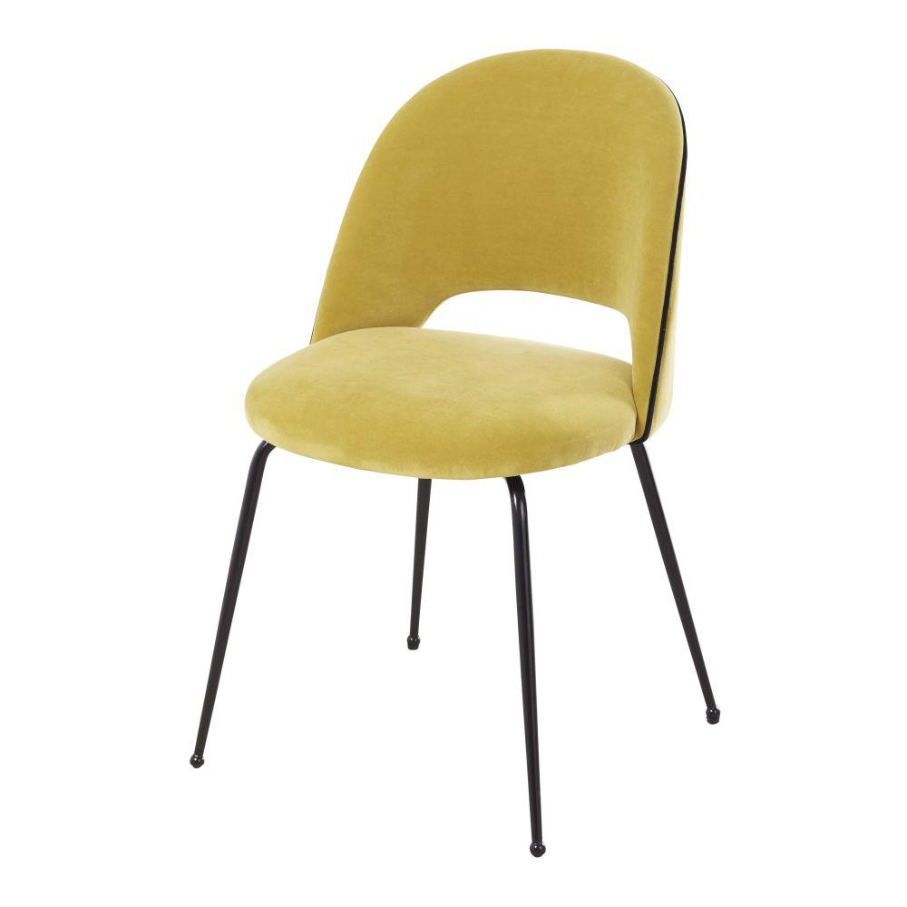 chaise-en-velours-jaune-et-metal-noir-isys-1000-0-28-199206_1