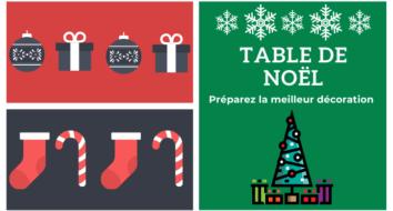 Les plus belles tables de Noël 2020|Deals et Bons plans