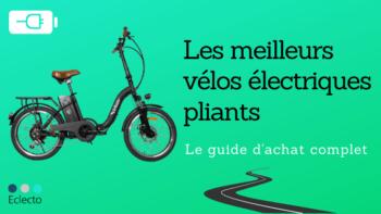 Le meilleur vélo électrique pliant en 2021