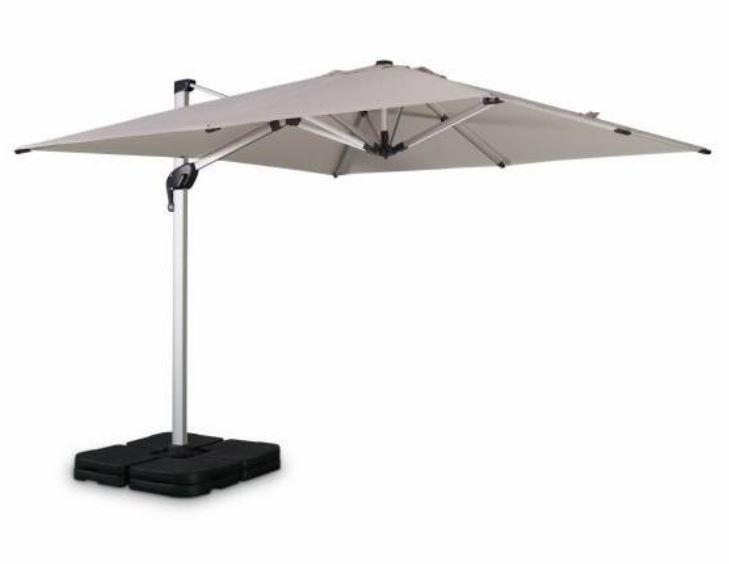 parasol déporté alice garden pyla beige